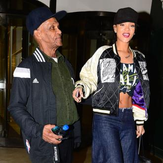 Rihanna's Granddad Crashes Record Label Meeting