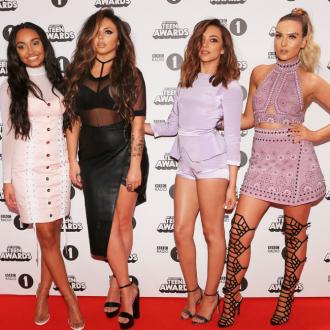 Little Mix don't stay fit at Christmas
