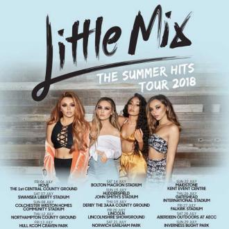 Little Mix to tour UK again in July 2018