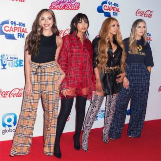 Little Mix signed off the footage of Piers Morgan used during their concert