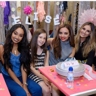 Little Mix surprise super-fan at McDonalds
