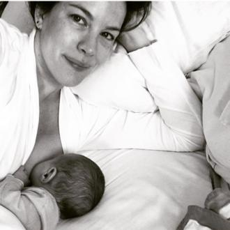 Liv Tyler shares adorable breastfeeding photo