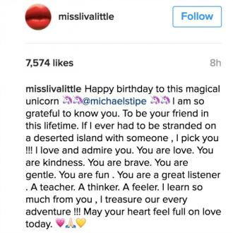 Liv Tyler pens heartfelt birthday message to Michael Stipe