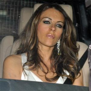 Liz Hurley Wows At Elton's Ball