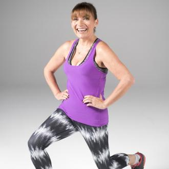 Lorraine Kelly: 'Exercise isn't about being glamorous'