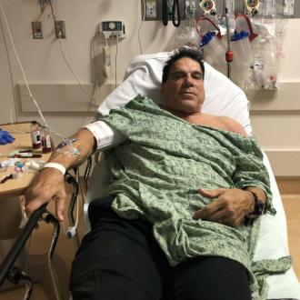Lou Ferrigno hospitalised