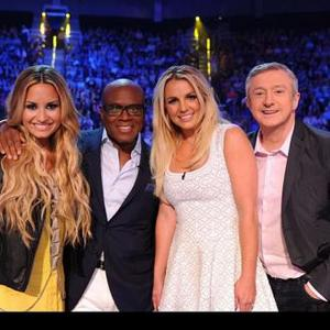 Britney Spears And Louis Walsh 'Bbfs'
