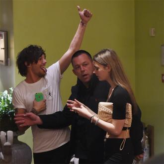 Louis Tomlinson's Hotel Party With Mystery Girl