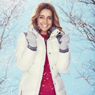 Louise Redknapp loves wearing 'beautiful cosy oversized jumpers'