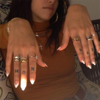Lourdes Leon gets tattoo tribute to parents