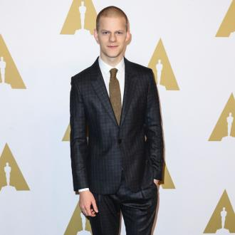 Lucas Hedges is not missing the Oscars buzz