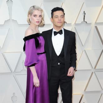 Rami Malek praises 'lovely' Lucy Boynton
