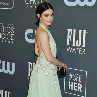 Lucy Hale injures her back