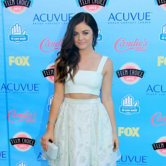 Lucy Hale Loves False Eyelashes