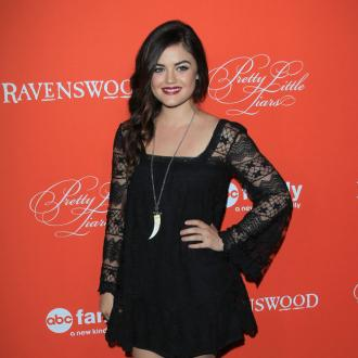 Lucy Hale Loves Little Black Dresses