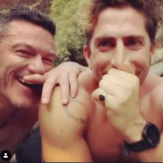 Luke Evans makes his relationship Instagram official