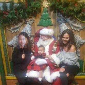 John Legend Missed Daughter's First Time Meeting Santa