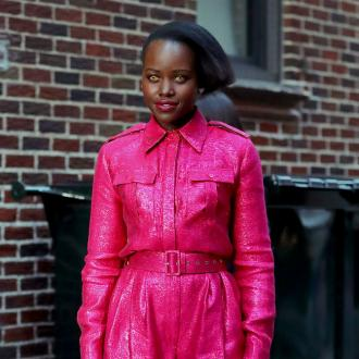 Lupita Nyong'o's red carpet looks based on Patrick Bateman