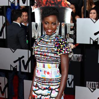 Lupita Nyong'o's Disco Make-up