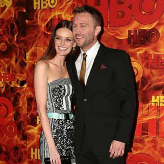 Lydia Hearst and Chris Hardwick tie the knot
