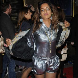 M.I.A. blames record label for not releasing new single