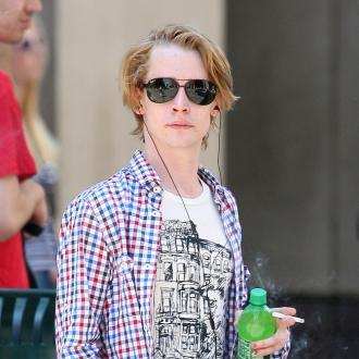 Macaulay's Girlfriend Helped Him Beat Drugs
