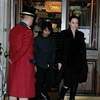 Angelina Jolie And Son Get Private Tour Of Buckingham Palace