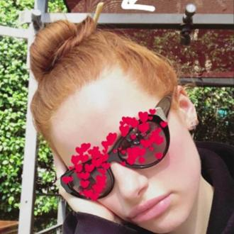 Madelaine Petsch Used A Breadstick As A Hair Tie