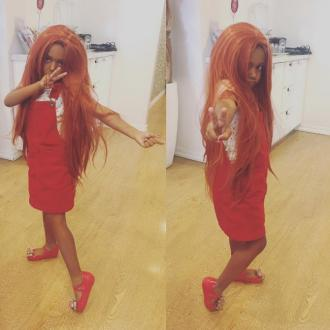 Mel B's daughter Madison dresses as Ginger Spice