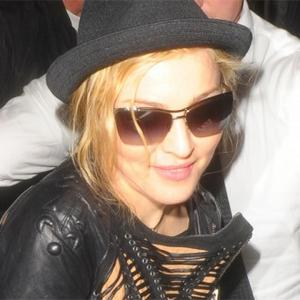 Madonna Flies With Chef