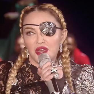 Madonna returns to stage