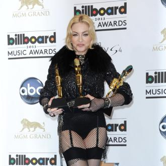 Madonna Joined By Rocco For Art Performance
