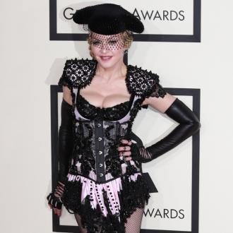 Madonna Using Inhaler For Brits Rehearsals