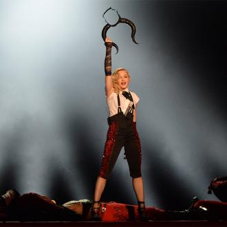 Madonna Kisses Drake On Stage