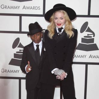 Madonna's Son Styled Her For Grammys