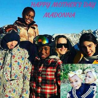 Madonna wishes herself happy Father's Day