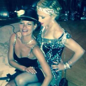 Kate Moss Parties With Madonna