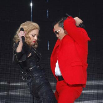 Madonna Performs Gangnam Style