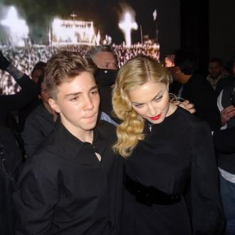 Madonna's Boyfriend Bonds With Son