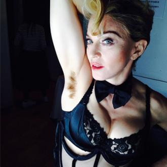 Madonna Shows Off Hairy Armpits