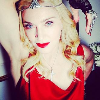 Madonna Sparkled In 1,000 Carats Of Diamonds