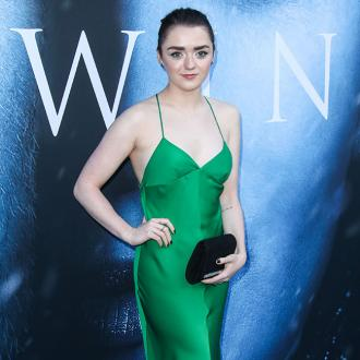 Maisie Williams taking a break from work