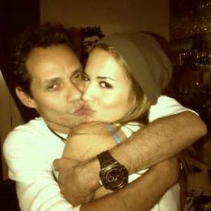 Marc Anthony With His New Girlfriend Shannon De Lima picture