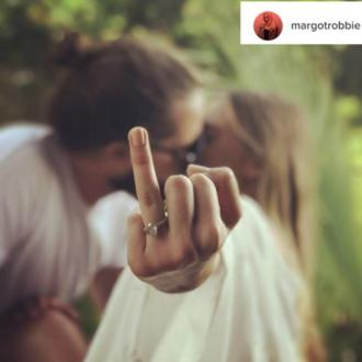 Margot Robbie confirms marriage