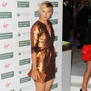 Outdoors Exerciser Maria Sharapova