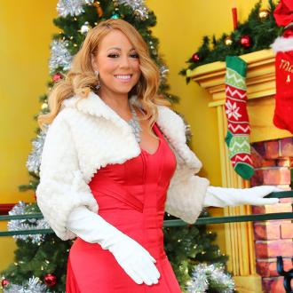 Mariah Carey has real reindeer at Christmas