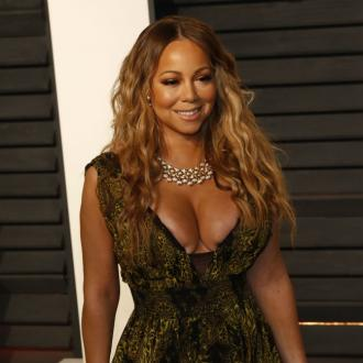 Mariah Carey inspired by Old Hollywood glamour