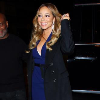 Mariah Carey Performs Own Video Stunts