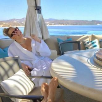 Mariah Carey Enjoys Birthday Beach Getaway