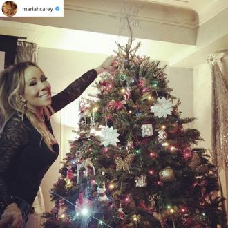 Mariah Carey Is Getting Into The Festive Spirit